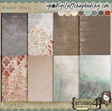 Rustic - Paper Pack 1
