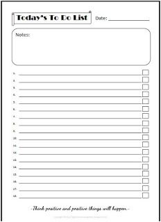 Digital Download Gallery: Free Printable To Do List