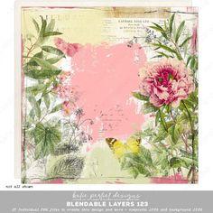 Ephemera, Digital Scrapbooking, Layers, Create, Artist, Painting, Vintage, Layering, Painting Art