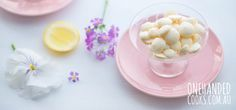 Lemon vanilla yoghurt drops. Double the recipe.