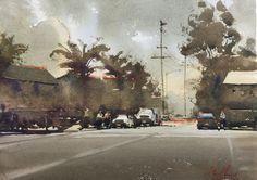Daniel Marshall Watercolor