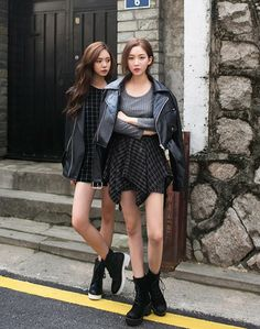 Women S Fashion Trends Asian Street Style, Korean Street Fashion, Asian Fashion, Girl Fashion, Fashion Looks, Fashion Outfits, Fashion Trends, Asian Style, Korean Style