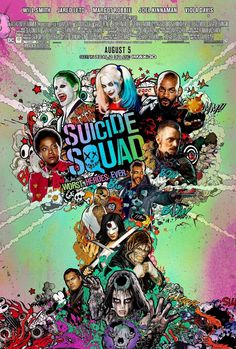 SUICIDE SQUAD movie poster No.14