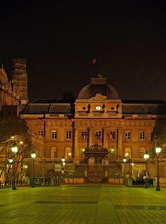 Palais de Justice, Ile de la Cité