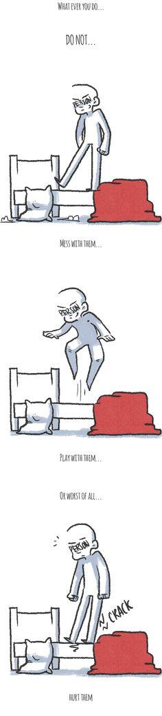 Drawcrastination :: Feelings are kind of like a Bed | Tapastic Comics - image 2