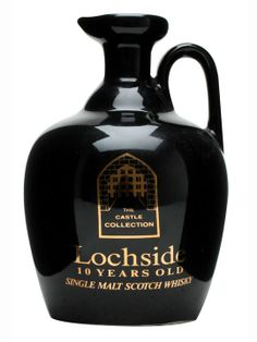 Lochside 10 Year Old Highland Single Malt Scotch Whisky Castle Collection A beautiful ceramic decanter.