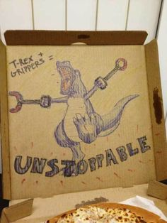Funny Pizza Box Messages - Likes