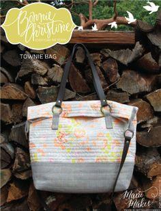Townie Bag PDF Pattern by Bonnie Christine