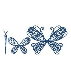 Tattered Lace Metal Die-Build A Butterfly Splendour