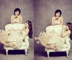 Girls' Generation #Taeyeon Photo Shoot With Mom In Gorgeous Dresses More: http://www.kpopstarz.com/articles/74986/20140121/girls-generation-taeyeon-photo-shoot-with-mom-in-gorgeous-dresses.htm