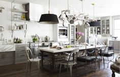 Shop the Room: A Glamorous Chef's Kitchen via @domainehome