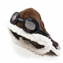 Aviator Dog Hat by Dogo - Brown