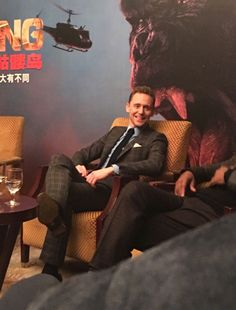 Tom Hiddleston attends the premiere of Kong: Skull Island in Beijing, China on March 16 2017. (http://maryxglz.tumblr.com/post/158474583317/lolawashere-tom-hiddleston-brie-larson-samuel )