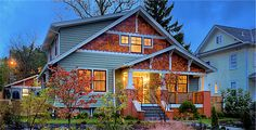 love this updated bungalow style!
