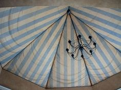trompe l'oeil ceiling Dream feel, perfect for a childs bedroom, or a master bedroom only if the room has high ceilings