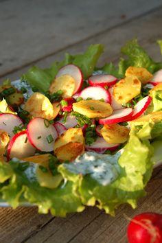 Summer salad vegetarian