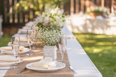 Rustic Wedding Tables Decorations