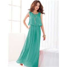 Mr. Welles Scoop Neck Sleeveless Solid Color Bohemian Chiffon Maxi Dress for Women $17.5 http://www.4leafcity.com/mr-welles-scoop-neck-sleeveless-solid-color-bohemian-chiffon-maxi-dress-for-women-product-20051.aspx