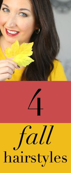 4 hairstyles in 4 minutes! NO HEAT