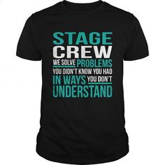 STAGE-CREW - #t shirts design #funny hoodies. ORDER HERE => https://www.sunfrog.com/LifeStyle/STAGE-CREW-133945555-Black-Guys.html?id=60505