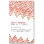Chevron Business Card by Whylime