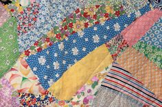 1930s vintage crazy quilt.