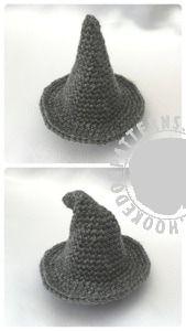 Wizard Gonk Free Crochet Pattern from Hooked On Patterns www.hookedonpatterns.com