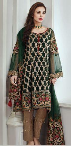 Unstitched Chiffon suits full embroidered CAD stitched, dm if interested indiandresses eidsale eid indian pakistani shalwarkameez anarkali forsale Casual Dresses, Fashion Dresses, Modest Fashion, Fashion Pants, Women's Fashion, Pakistani Outfits, Pakistani Clothing, Desi Clothes, Indian Designer Wear