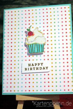 Geburtstagskarte Muffin I