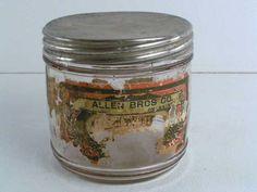 1900s antique cigar jar