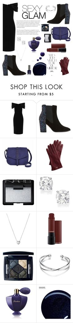 """""""sexy GLAM"""" by rahelinho ❤ liked on Polyvore featuring beauty, Emilio De La Morena, Dune, A.N.A, Mark & Graham, NARS Cosmetics, Links of London, Rika, Guerlain and Urban Decay"""