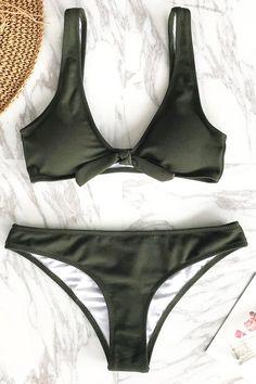 Art Treasure Solid Bikini Set Buy Now Bikini Swimwear, Bikini Set, Surf Bikini, Bikini Floral, Surf Girl Style, Surf Wear, Surf Outfit, Cute Swimsuits, Summer Bikinis