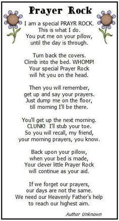 Prayer rock poem kid version good idea for a gifti am prayer rock christmas prayerchristmas gift poemfunny negle Images