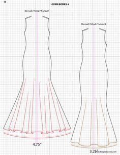 Fashion Drawing Adobe Illustrator Flat Fashion Sketch Templates - My Practical Skills Fashion Illustration Template, Fashion Sketch Template, Fashion Design Template, Fashion Pattern, Fashion Templates, Flat Drawings, Flat Sketches, Drawing Sketches, Drawing Templates