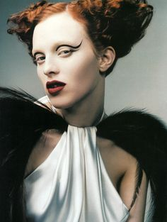 'Pret-a-Porter'. Karen Elson by Craig McDean, Vogue Italia, March 1999.