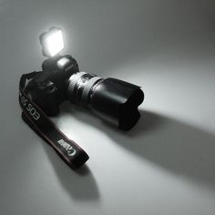 LED camcorder lamp light enables you to link lights together to make larger light and helps ensure your picture's perfect settings. The compact size makes it ideal for your shooting on trip.