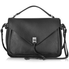 Rebecca Minkoff Handbags Darren Black Leather Messenger (915 BRL) ❤ liked on Polyvore featuring bags, messenger bags, black, handbags, rebecca minkoff bags, rebecca minkoff, leather fringe bag, fringe messenger bag and rebecca minkoff messenger bag