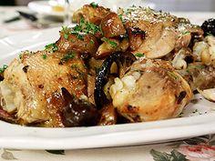 Recetas   Pollo al horno con papas al limón   Utilisima.com