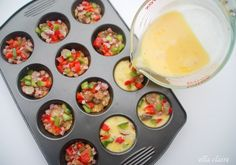 {Ella Claire}: Delicious Omelet breakfast bites make healthier options