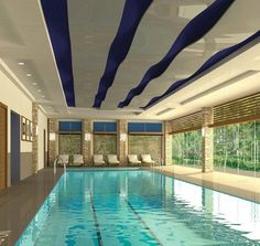 25+ Gorgeous Indoor Swimming Pool Design Ideas For Your Home