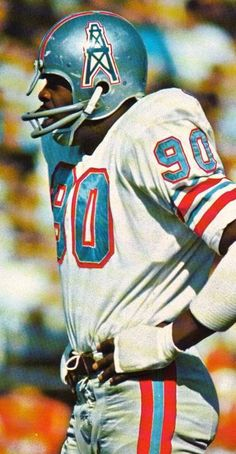 Houston Oilers - silver and powder blue (late Nfl Football Players, Football Is Life, Sport Football, Football Helmets, School Football, Sports Teams, Minnesota Vikings Football, Canadian Football, American Football League