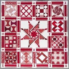 2013 block of the month quilt:  Kansas City Star on the 3rd Sunday of every month.