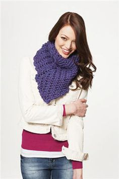 Tapered Triangle #Cowl #crochet #MichaelsStores