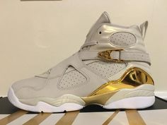 f84f3ad5ef7a Air Jordan 8 Retro Champagne White  fashion  nike  shopping  sneakers  shoes