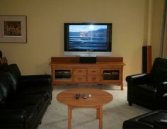 Contemporary Craftsmen 4 Drawer Media Center