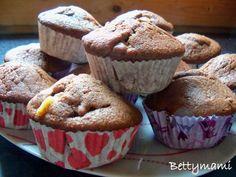 Duplán csokis muffin | Betty hobbi konyhája Muffin, Hobbit, Breakfast, Vaj, Cukor, Food, Morning Coffee, Essen, Muffins