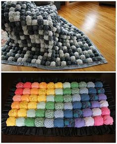 How To Easily Make A Bubble Quilt