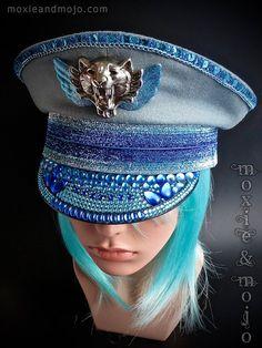 Captain's Festival hoed: Blue Steel  maat door MoxieandMojoFashion