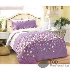Povlečení 140x200 + 70x90 - Violeta :: TopProstěradla.cz Comforters, Blanket, Bed, Furniture, Home Decor, Creature Comforts, Quilts, Decoration Home, Stream Bed