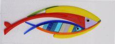 Vissen - Glaskunst objecten & glazen grafmonumenten - www.glasfragmenten.nl
